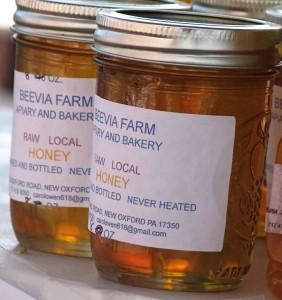 Local Honey from Beevia Farm