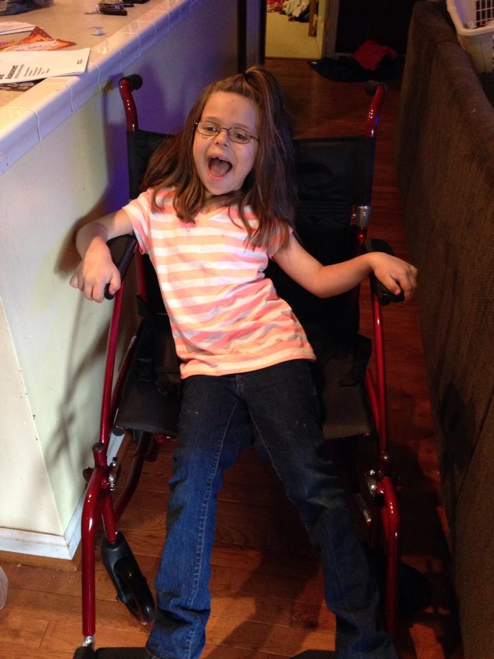 A Local Miracle For a Handicapped Girl Thanks to the Thurmont Grange #409