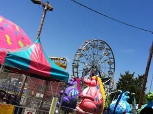 Local Carnival in Gettysburg Pennsylvania