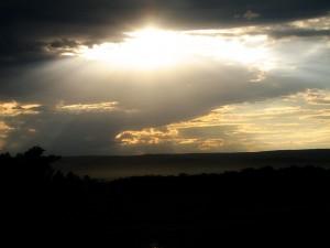 The Skyline on Emmitsburg Roads Saturday evening