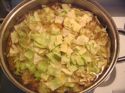 Local Recipe: Cabbage Stew