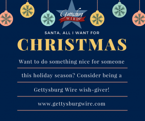 Gettysburg Wire Wish-Giver