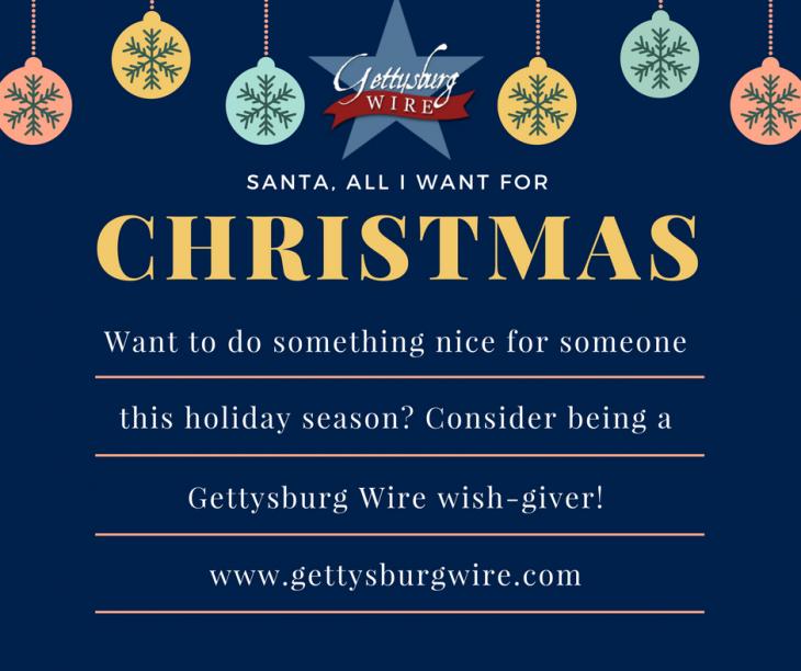 Gettysburg Wire Wish-Giving 2017