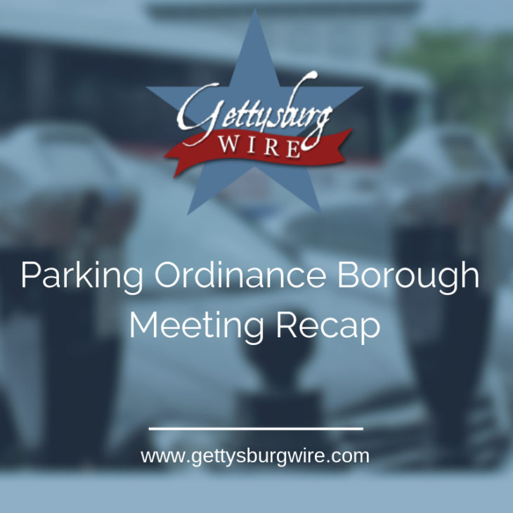 "January Gettysburg Borough Recap – Specifically ""The Parking Issue"""